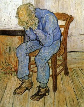 Old Man in Sorrow (On the Threshold of Eternity) by Vincent Van Gogh (via Wikimedia Commons)